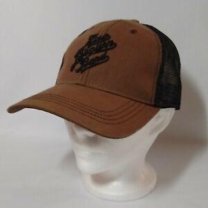 Zac Brown Band Trucker Mesh Brown Black Southern Ground  Adjustable Hat Cap