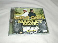 KRS-ONE AND MARLEY MARL Hip Hop Lives (2007) CD Rap Koch w/Circuit City Bonus