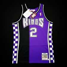 100% Authentic Mitch Richmond Mitchell Ness 94 95 Kings Jersey Size 40 M  Mens fc61507f9