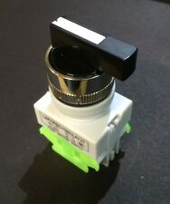 22mm Selector Switch Maintained ON-OFF-ON Or HAND-OFF-AUTO Rotary Pushbutton HOA