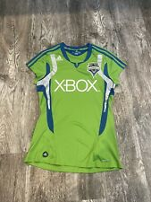 Seattle Sounders FC adidas climacool MLS Soccer Jersey Womens Sz XL