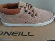O'Neill mens Amped canvas Rust trainers sneakers shoes uk 6 eu 39 us 7 NEW+BOX