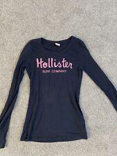 Blue Long Sleeve Hollister Top Size XS T Shirt