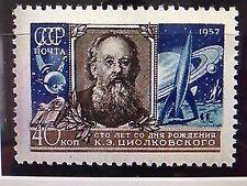 SOWJETUNION USSR 1957 MiNr: 1993 TSIOLKOVSKY SPUTNIK 1 COSMOS KOSMOS