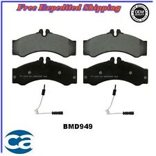Front Disc Brake Pad ceramic MBD949  fits, 2002-2006 Freightliner Sprinter 3500