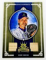 2005 Diamond Kings Gold Materials Randy Johnson #11 Dual Bat Relic #25/25 HTF
