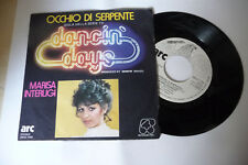 "MARISA INTERLIGI""OCCHIO DI SERPENTE- DISCO 45 GIRI FIVE It 1982"" SIGLA TV"