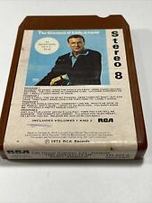Rare Canada Import: The Greatest Eddy Arnold -Tele House 8-Track Tape Brown Cart