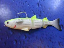 Savage Gear 3D TPE Mullet WAKE LEMON BACK 13cm 28.5g FISHING LURE