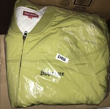Supreme X Thrasher Poplin Crew Jacket Pea Green Size M Medium Skate And Destroy
