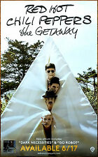 RED HOT CHILI PEPPERS The Getaway 2016 Ltd Ed RARE Poster +FREE Alt Rock Poster