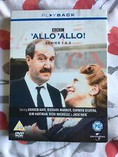 'Allo 'Allo - Series 1 And 2 (DVD, 2002, 3-Disc Set, Box Set)