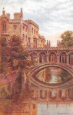 POSTCARD    QUINTON  A  R  CAMBRIDGE   St  Johns  College  Bridge  of  Sighs