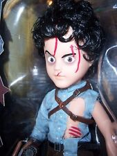 "LDD 10"" Evil Dead 2 Dead by Dawn Ash doll (MISB) Living Dead Dolls (2016) Mezco"