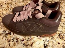 HEELYS 7146 Brown  Atomic roller skate Men/ boys Size 7 Suede Lace Up Sneakers
