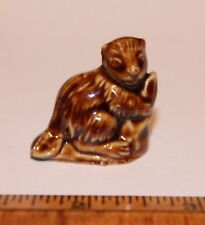 Wade Whimsies Beaver Red Rose Tea Figurine 2nd US Series 1985-1994 - England