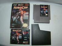 Nintendo NES Robocop game cartridge w/ box & manual, tested, working