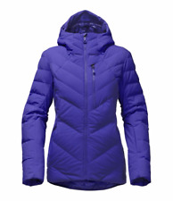 North Face Women's Corefire Hooded Down Jacket in Inauguration Blue Medium 2017