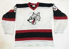 Kobe Sudbury Wolves #5 OHL Hockey Jersey XXL White Canada Sewn