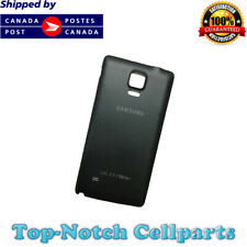 New Samsung Galaxy Note 4 Back Battery Door Cover for N910W8 N910 N910F - Black