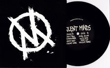 """Violent Minds - S/T 7"""" F*cked Up Cold World Marvelous Darlings Young Guv Punk HC"""