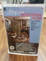 Living voices Christimas  Various  Audio Cassette Tape 1977