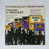 AFRICAN METHODIST EPISCOPAL Pioneers In Protest AME1 AudioMatrix LP Vinyl VG+