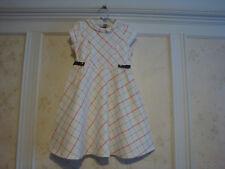 NWT Janie And Jack  Carriage House  Girls  plaid knit dress  10