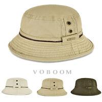 100% coton chapeau de seau pour hommes chapeau de pêcheur chapeaux seau