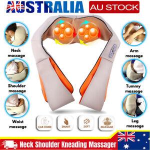 Neck Massager Shiatsu Shoulder Wrap Electric Massager Back Massager Deep Knead