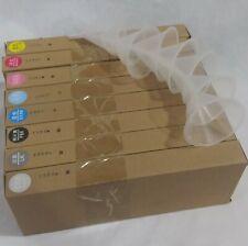 Epson Stylus Pro 7880 / 9880 Ink Refilling Cartridge 8pcs/set with 8 Funnels
