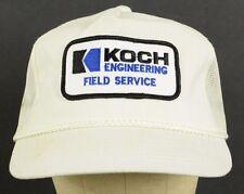 Koch Engineering Field Service Patch Badge Trucker Baseball Hat Cap Snapback