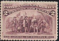 US SCOTT #231 - MH - 2 cent 1893 Columbian Expo Issue