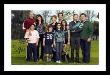 MODERN FAMILY AUTOGRAPHED SIGNED & FRAMED PP POSTER PHOTO