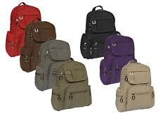 Sportlicher Leichter Damenrucksack Tasche Bag Cityrucksack Backpack Reise Stoff