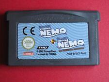 JEU NINTENDO GAME BOY @@ COLOR @@ ADVANCE @@ NEMO 1 + NEMO 2 @ TEST OK