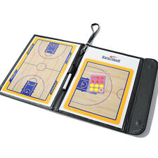 Portable Basketball Match Training Tactical Board PU Leather Magnetic Chess Set