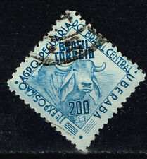 Brazil Fauna Famous Cattle Cow stamp 1946