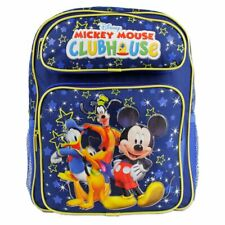 "Mickey Mouse Clubhouse 14"" Backpack Boys School Book Bag"