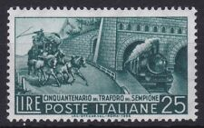 ITL139) Italy 1956 50th Anniversary of the Simplon Tunnel, MUH