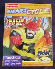 2 Each Factory Sealed Smart Cycle Activities Bob the Builder and Rescue Heroes