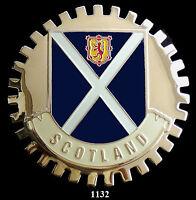 CAR GRILLE EMBLEM  BADGES -  SCOTLAND (FLAG)