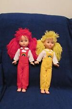 Two Vintage Regal Dolls - Canadian Made - 15 inches