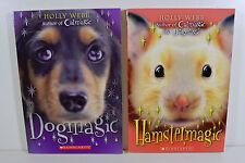 Dogmagic & Hamstermagic Chapter Books by Holly Webb (2 Scholastic Paperbacks)