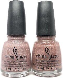 china glaze nail polish Hello Gorgeous 1139 + United 1140 Pink Glitter Lacquer