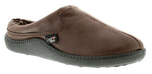 New Mens/Gents Brown Mule Slippers UK Size