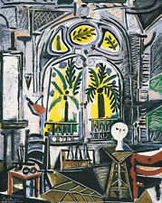 The Studio, 1955 by Pablo Picasso Art Print Cubism Poster 11x14
