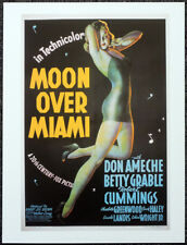 MOON OVER MIAMI 1941 FILM MOVIE POSTER PAGE . BETTY GRABLE . 421