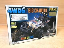 Vintage  Nikko 1/16 RC Winch Big Crawler 4WDS 1986 from Japan NEW