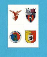 PANINI CALCIATORI 2011-2012-Figurina n.680- FANO+FONDI+GAVORRANO+..-SCUDETTO-NEW